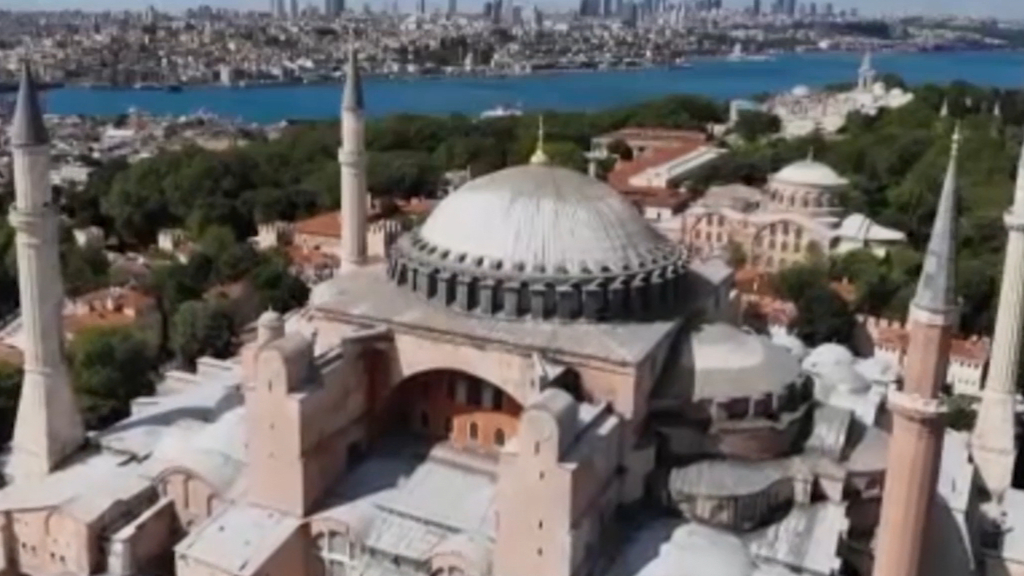 Hagia Sophia converted into mosque