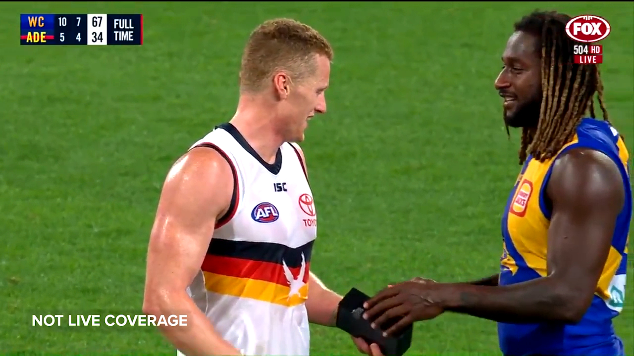Naitanui gives O'Brien a new phone