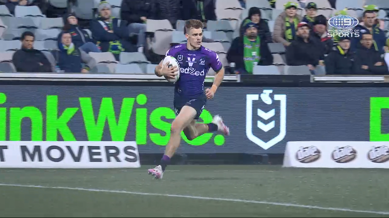 NRL Highlights: Raiders v Storm - Round 9