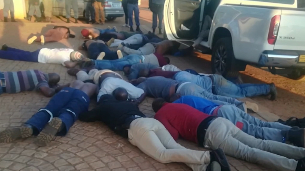 Five fatalities and several hostages in South African siege