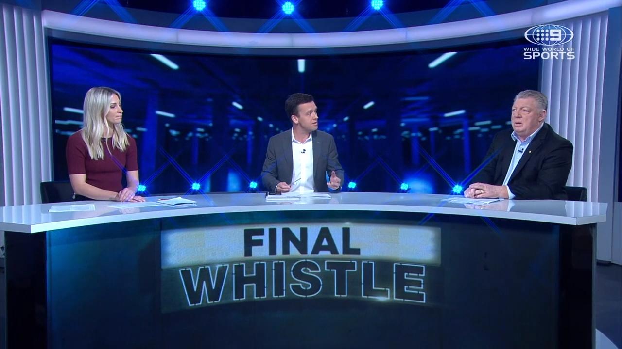 Allana Ferguson and Phil Gould discuss the Josh Hodgson's injury