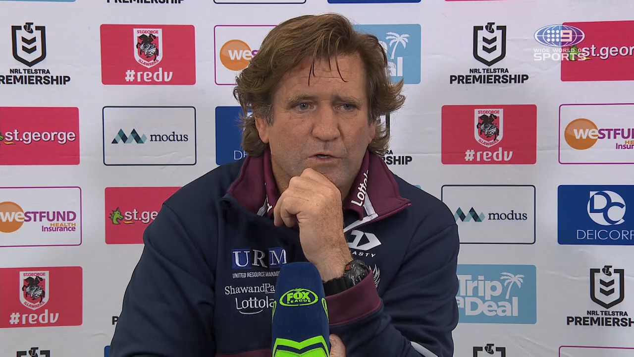 Dragons v Sea Eagles Round 9: Presser - Des Hasler