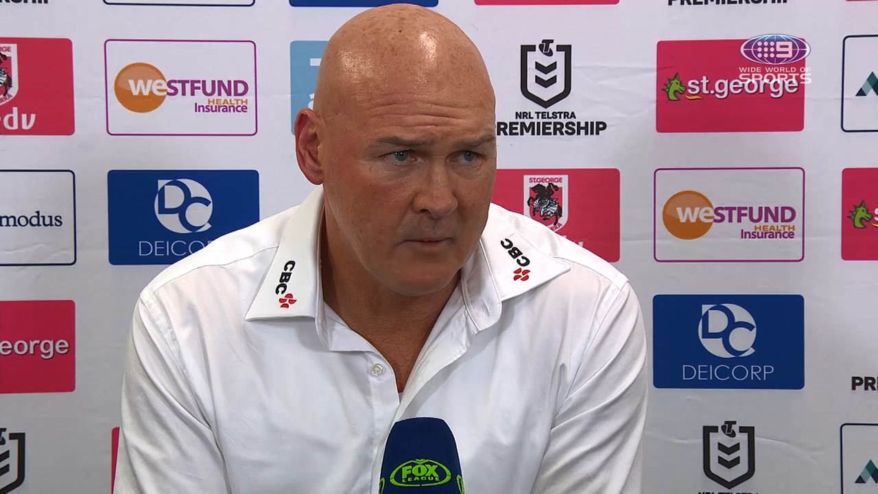 Dragons v Sea Eagles Round 9: Presser - Paul McGregor