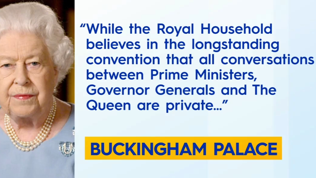 Buckingham Palace issued rare statement after release of the palace letters