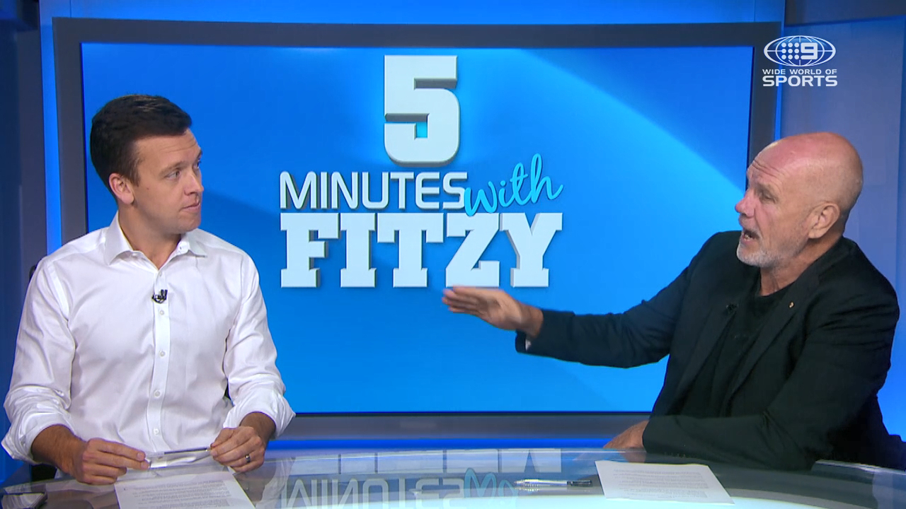 Fitzy questions the character of Corey Harawira-Naera and Jayden Okunbor