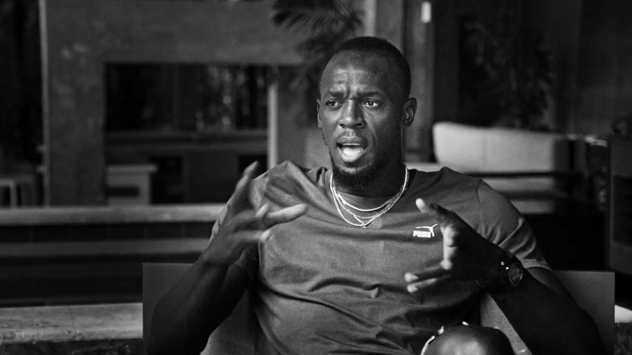 Bolt features in Greatness Code doco