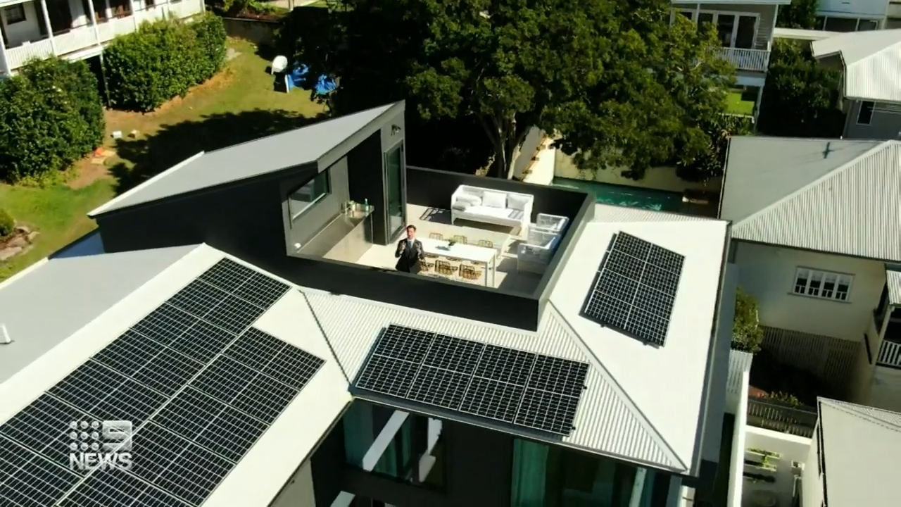 Inside Australia's greenest home