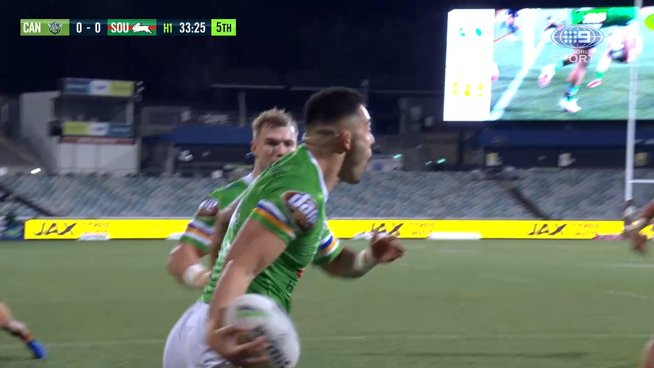 Raiders V Rabbitohs Nrl Match Centre