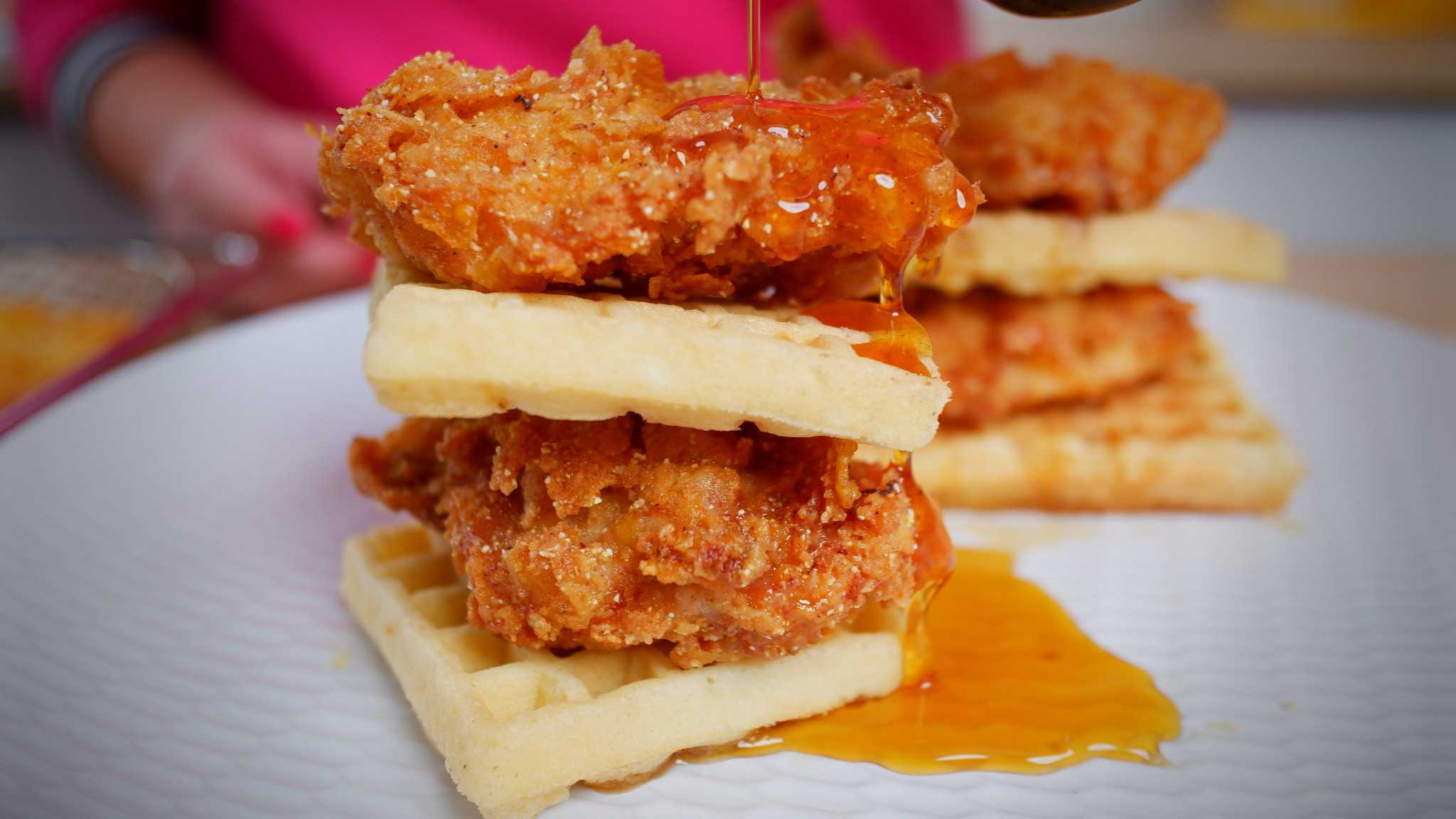 9Honey Every Day Kitchen: The secret to perfectly crunchy fried chicken and waffles