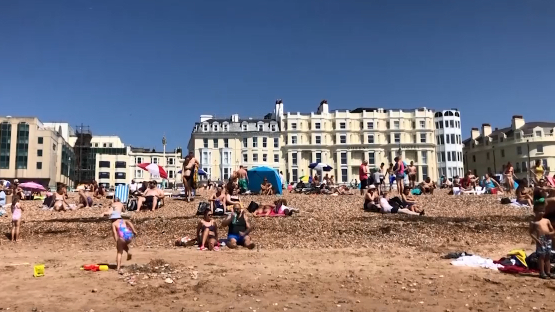 UK sweats through hottest day of 2020