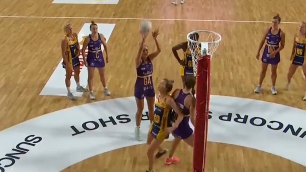 Firebirds debutant nails first Super Netball 'Super Shot'