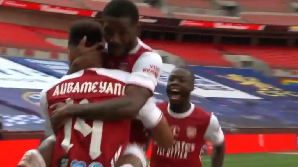Aubameyang's FA Cup winning stunner