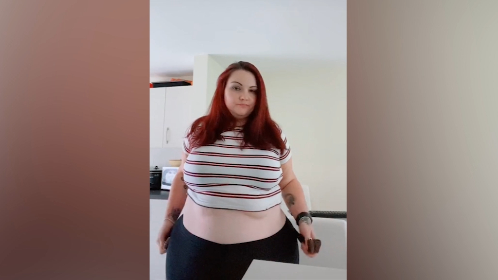 "Woman's ""Operation Seat belt Extension"" weight loss journey goes viral"