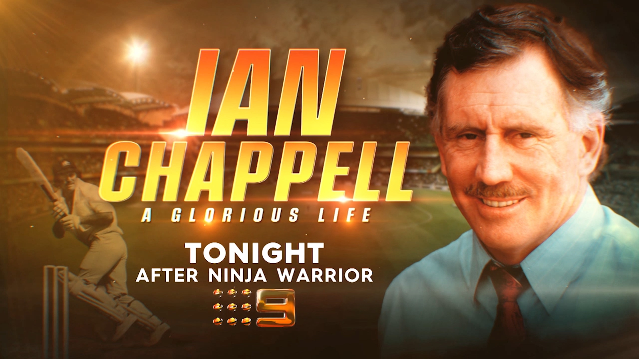 Ian Chappell, A Glorious Life, airs tonight
