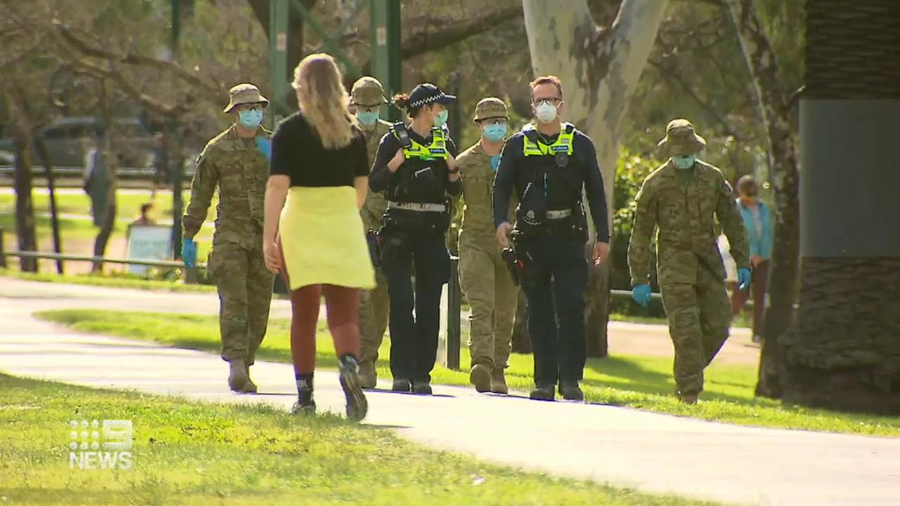 Coronavirus: Curfew begins in Melbourne