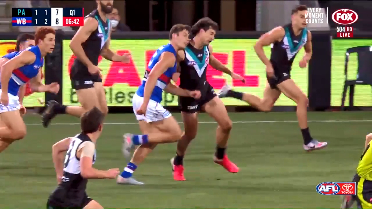 Mayes in hot water over high hit