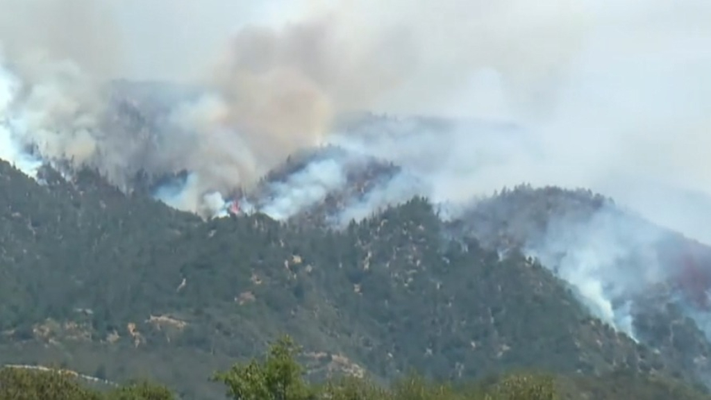 Wildfires rage in Southern California