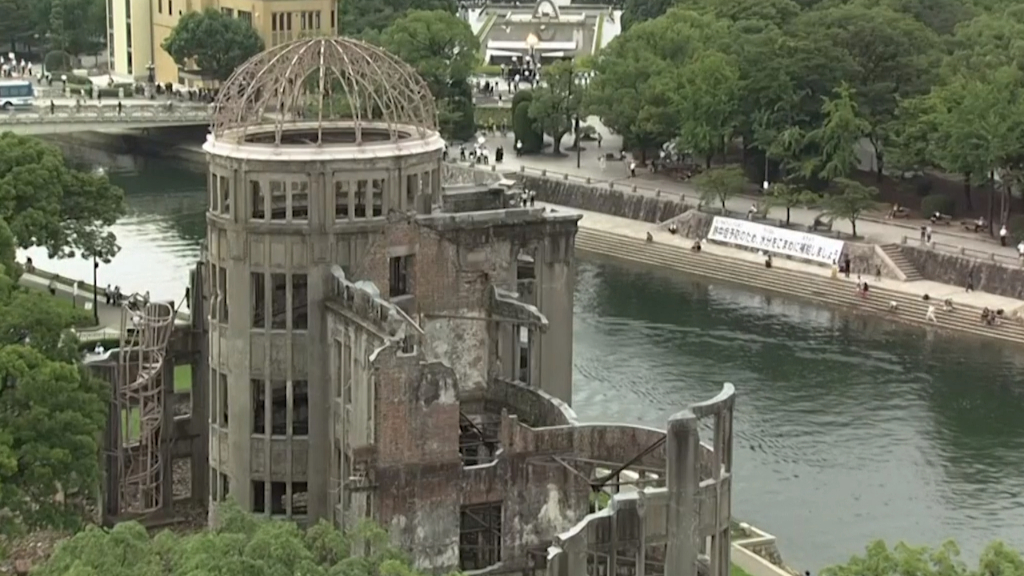 Hiroshima marks 75 years since the first atomic bomb