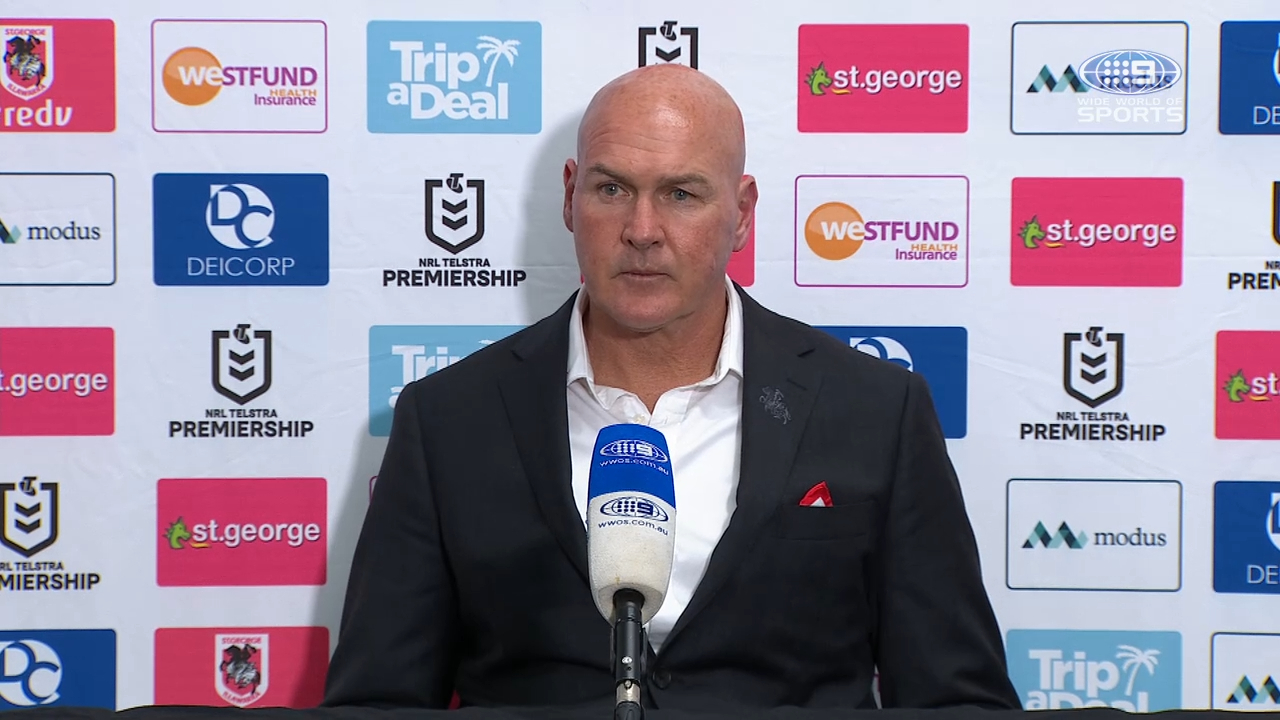 Dragons v Roosters: Round 13 Presser - Paul McGregor