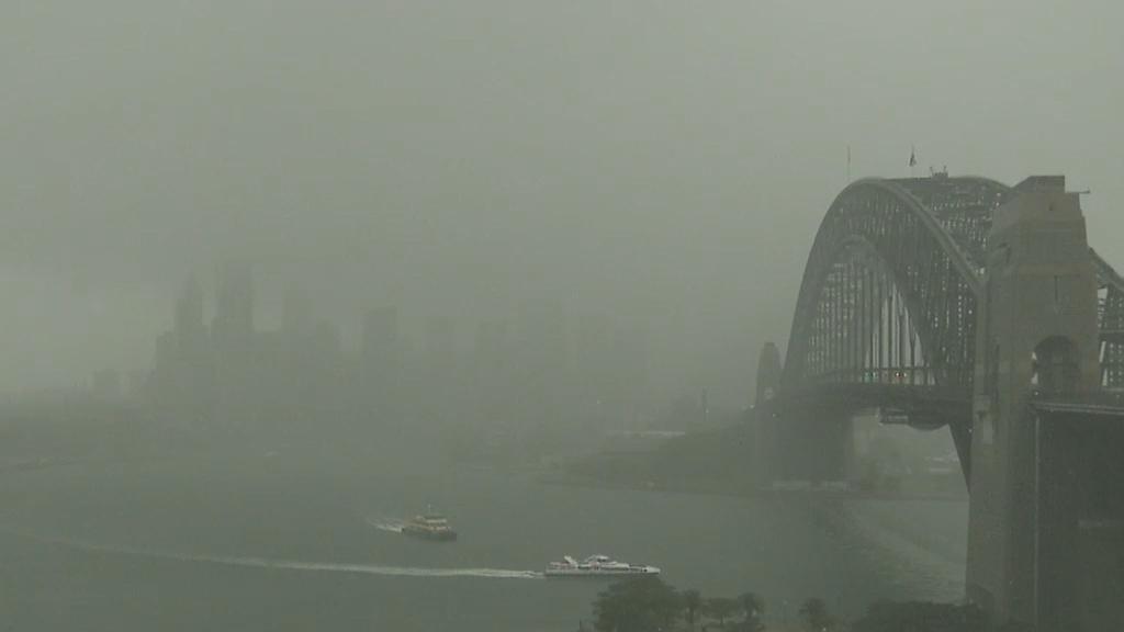 NSW braces for heavy rain