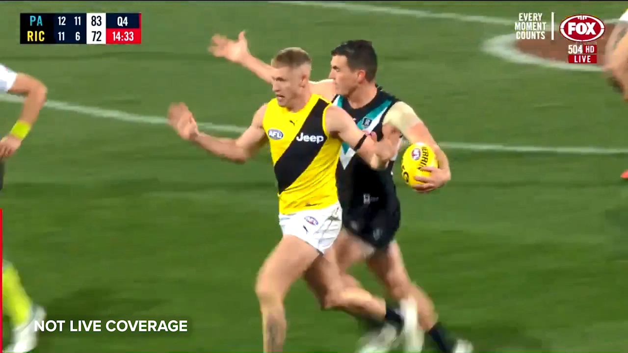 Hardwick fumes after 100m penalty