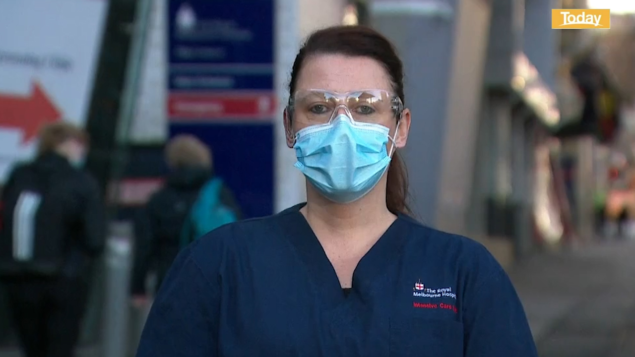 Coronavirus: Nurse condemns behaviour of anti-maskers