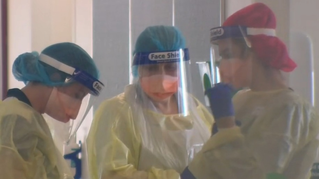 Coronavirus: Fears for healthcare workers in Melbourne