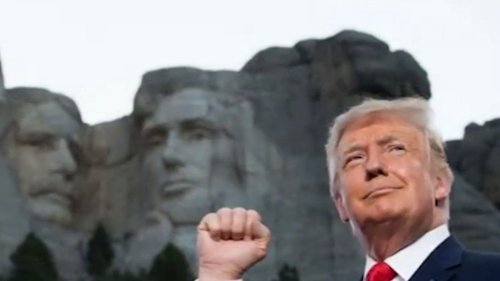 White House wanted to add Trump to Mount Rushmore