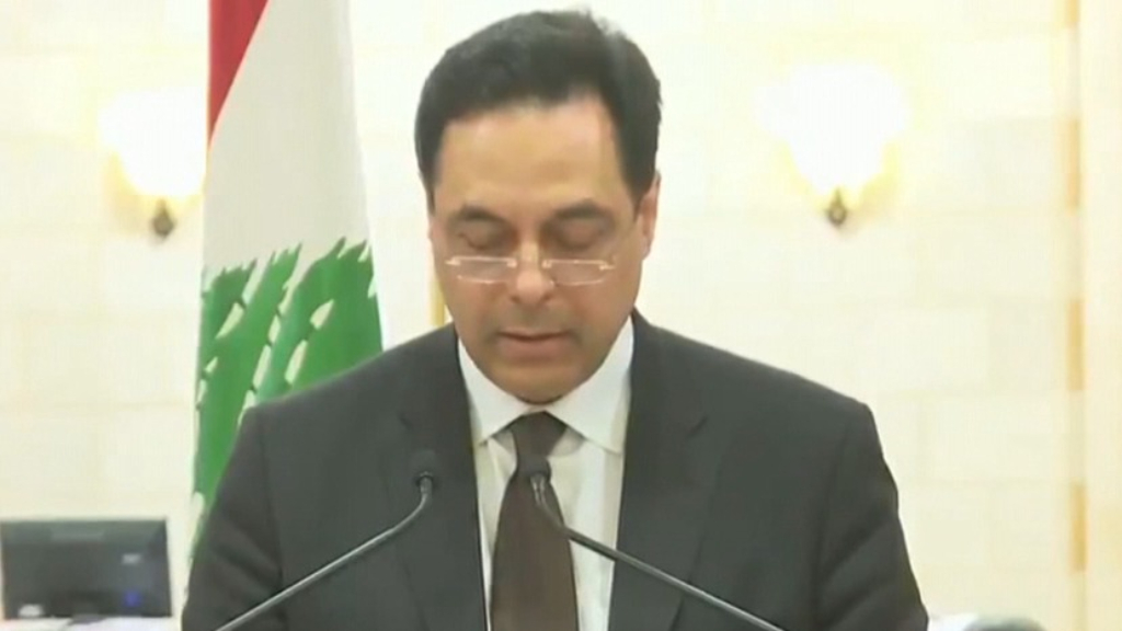 Lebanon government resigned after Beirut explosion