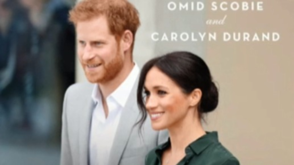 New book released on Prince Harry and Meghan Markle