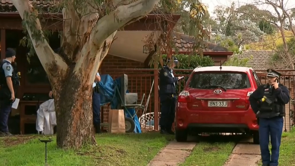 Elderly couple found with stab wounds