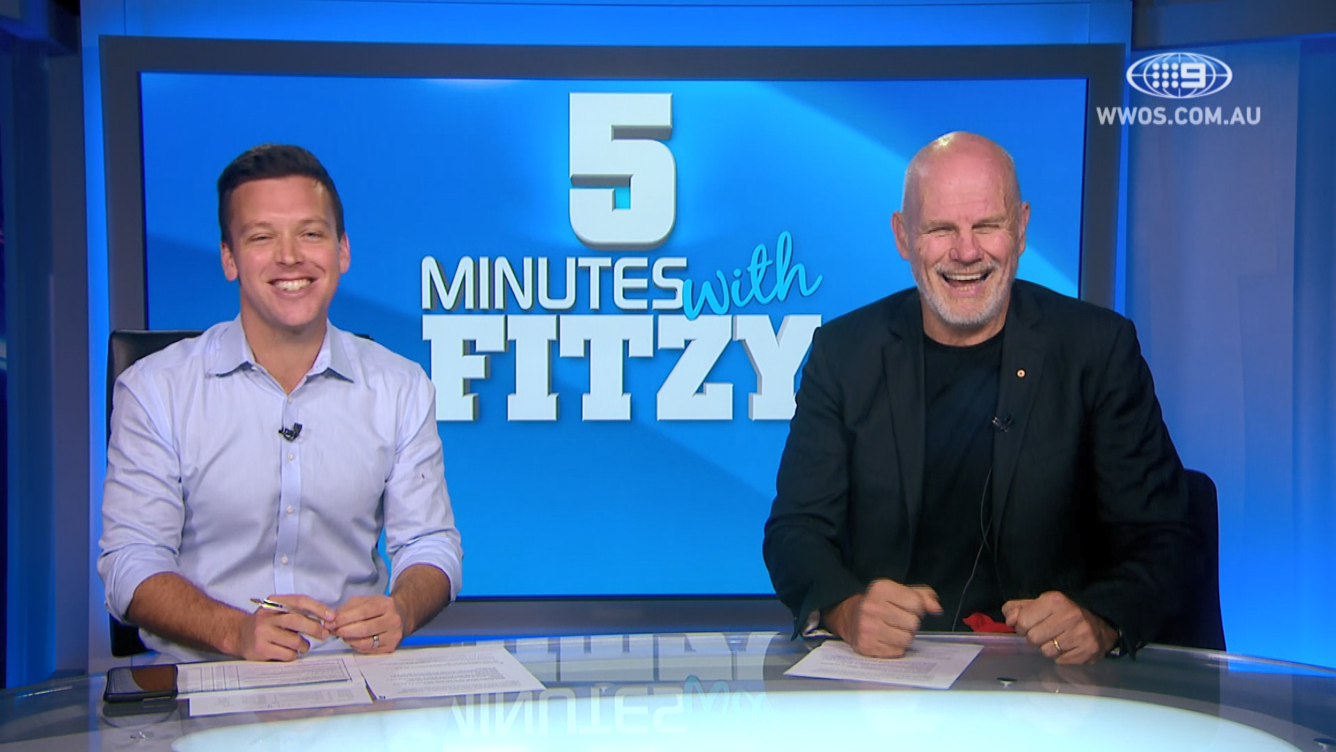 What is Rugby's best selling point?: 5 Mins with Fitzy