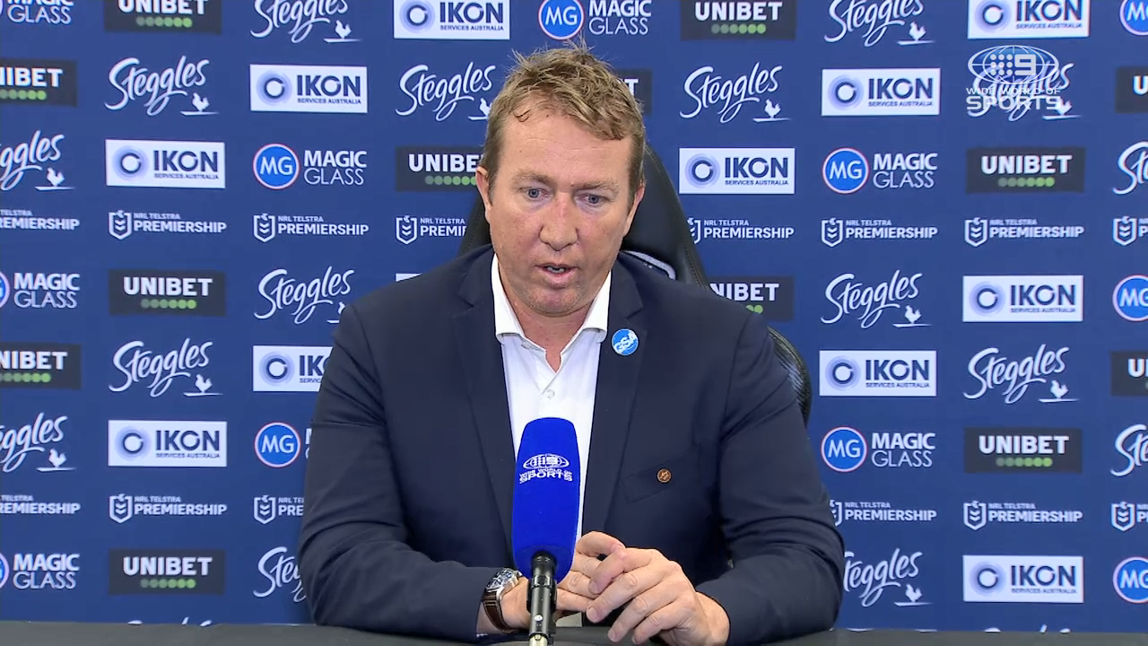 Roosters v Storm Round 14: Presser - Trent Robinson
