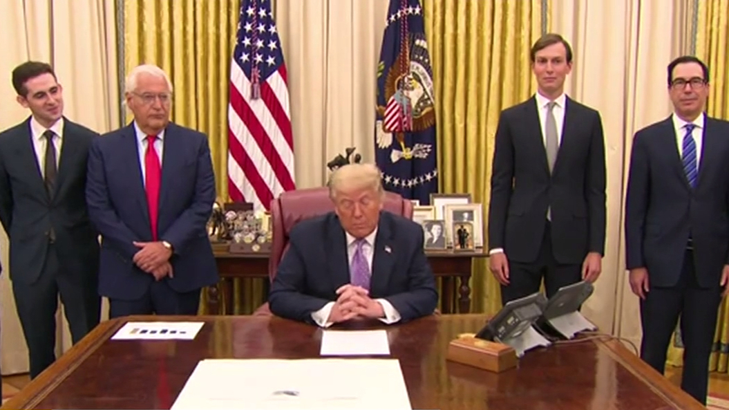 Trump announces historic peace agreement