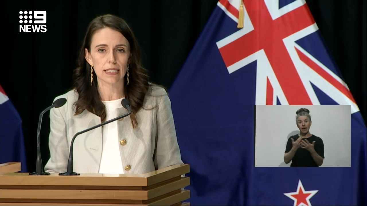 Prime Minister Jacinda Ardern delays election until October 17