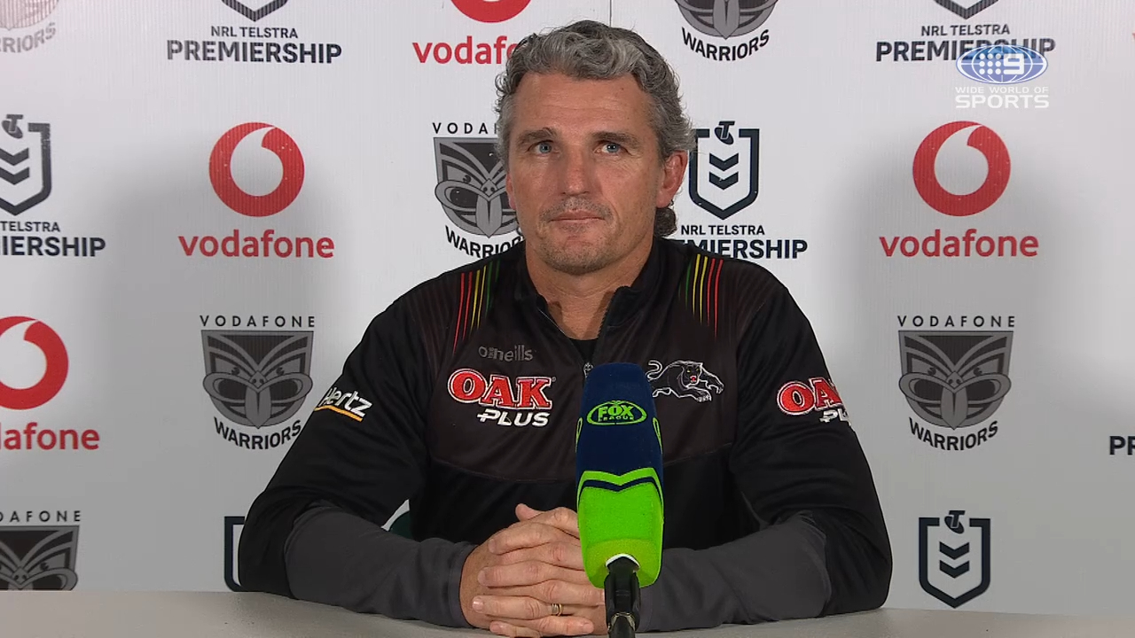 Warriors v Panthers Round 14: Presser - Ivan Cleary