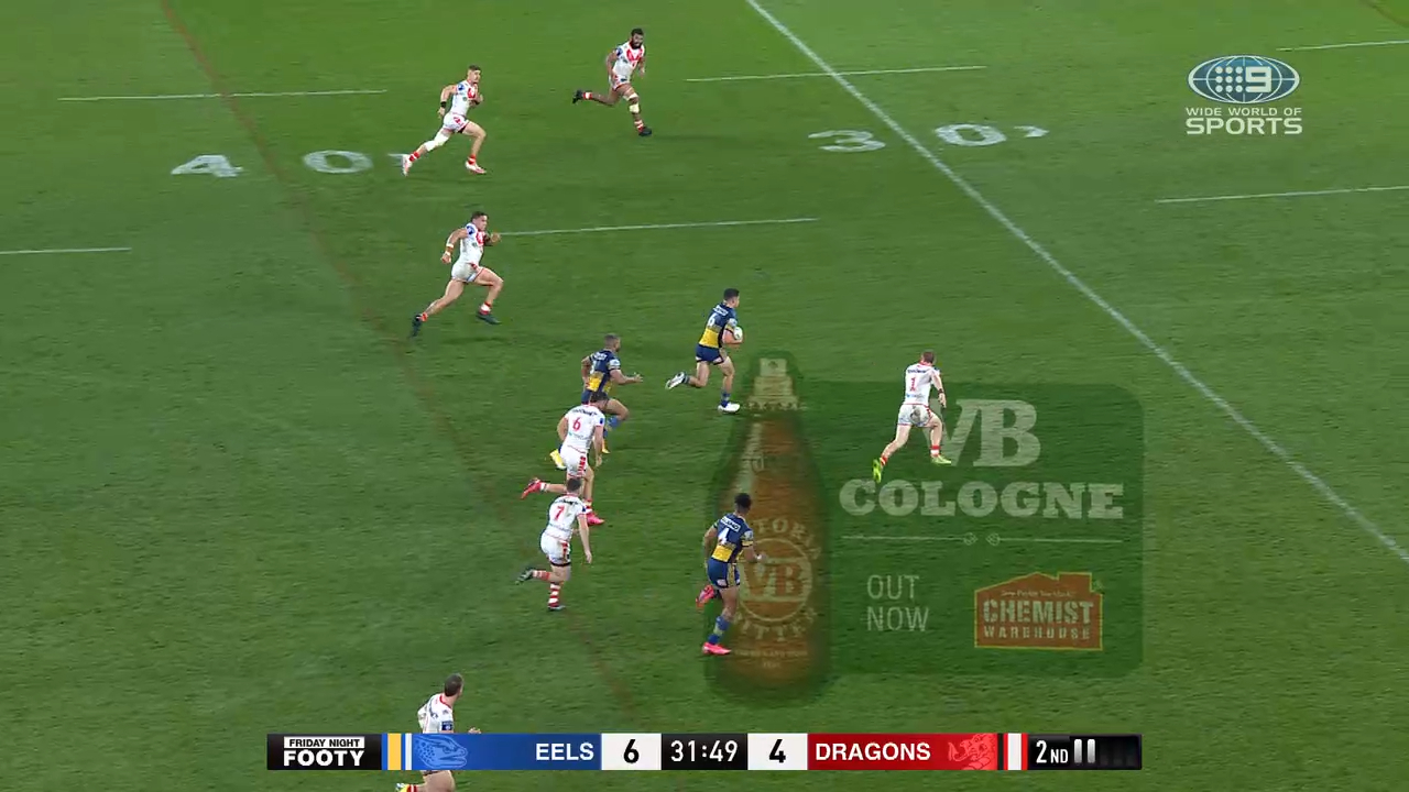 NRL Highlights: Eels v Dragons - Round 14