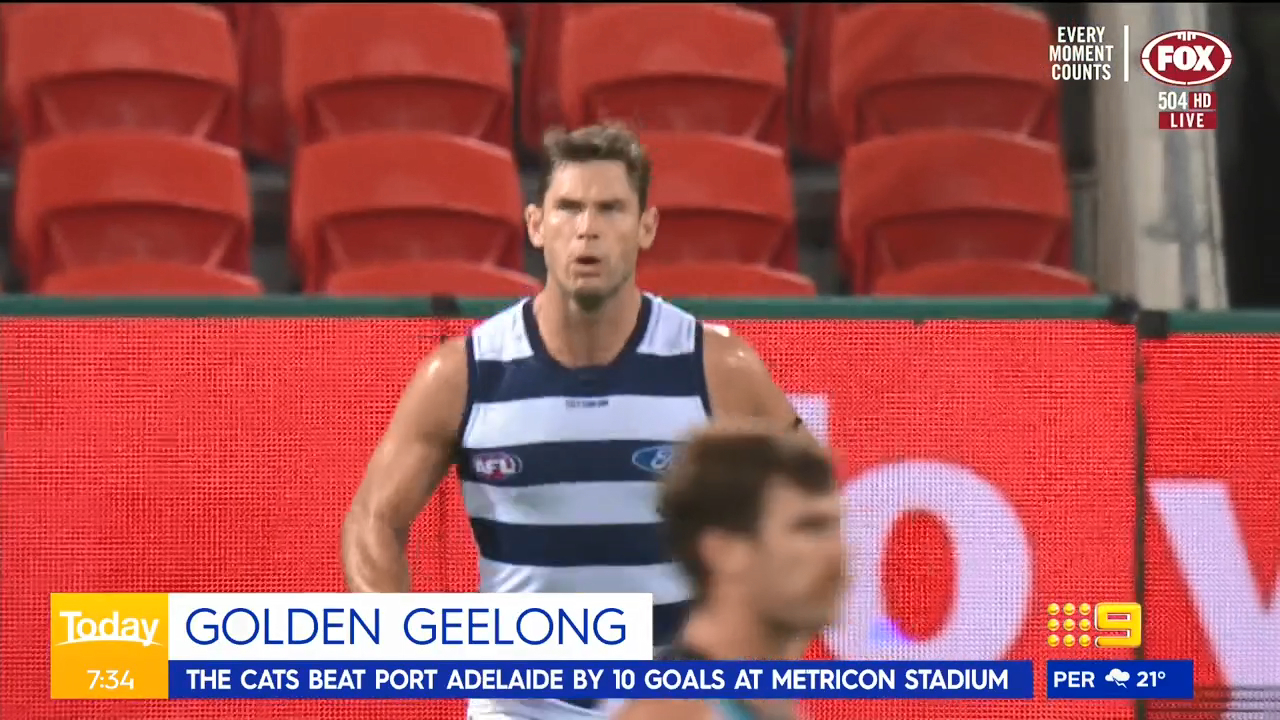 Geelong dismantles Port Adelaide