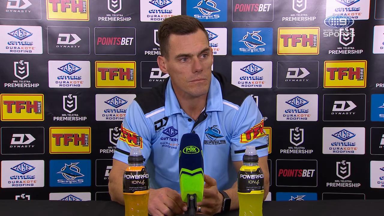 Sharks v Titans Round 14: Presser - John Morris