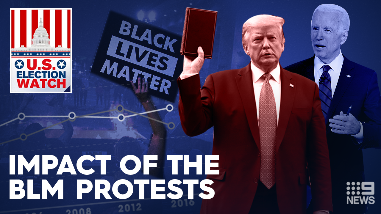 US Election Watch: What the BLM protests mean for the election