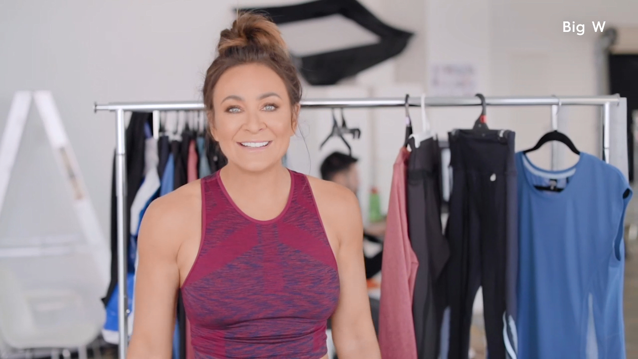 Michelle Bridges debuts Big W fitness range