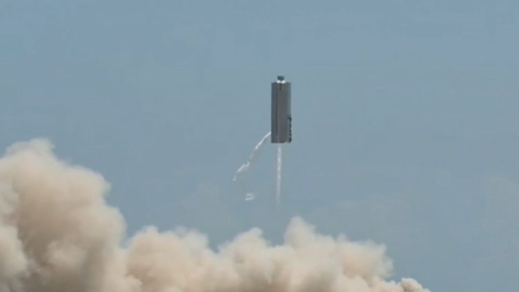SpaceX launches second Starship prototype