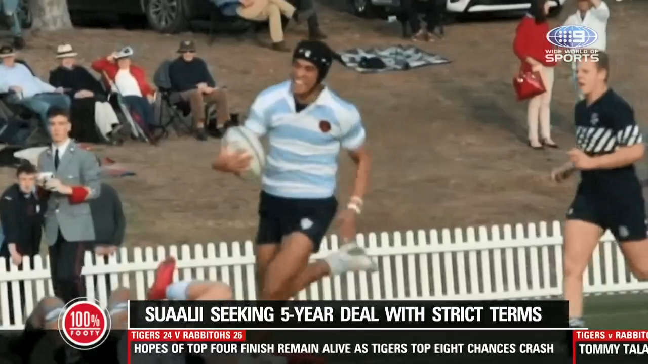 Souths locked in Suaalii contract standoff