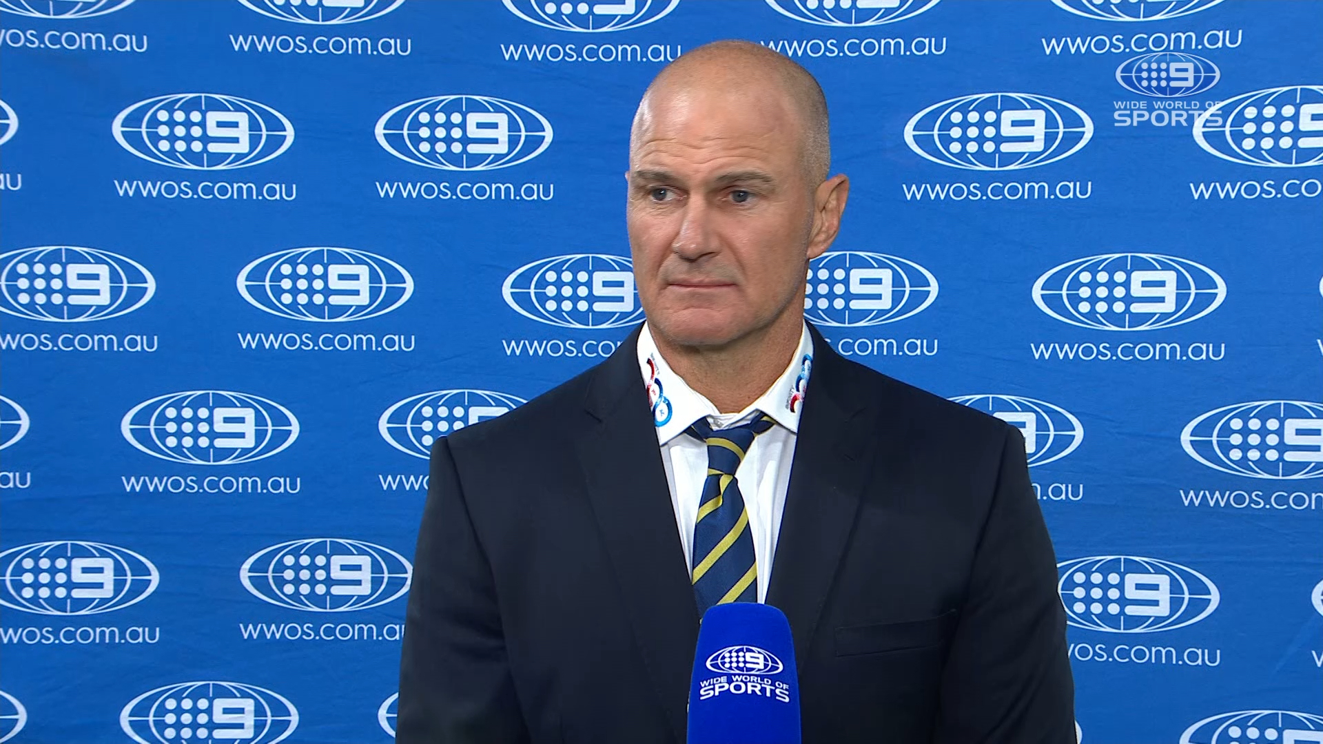 Brad Arthur pre-game interview