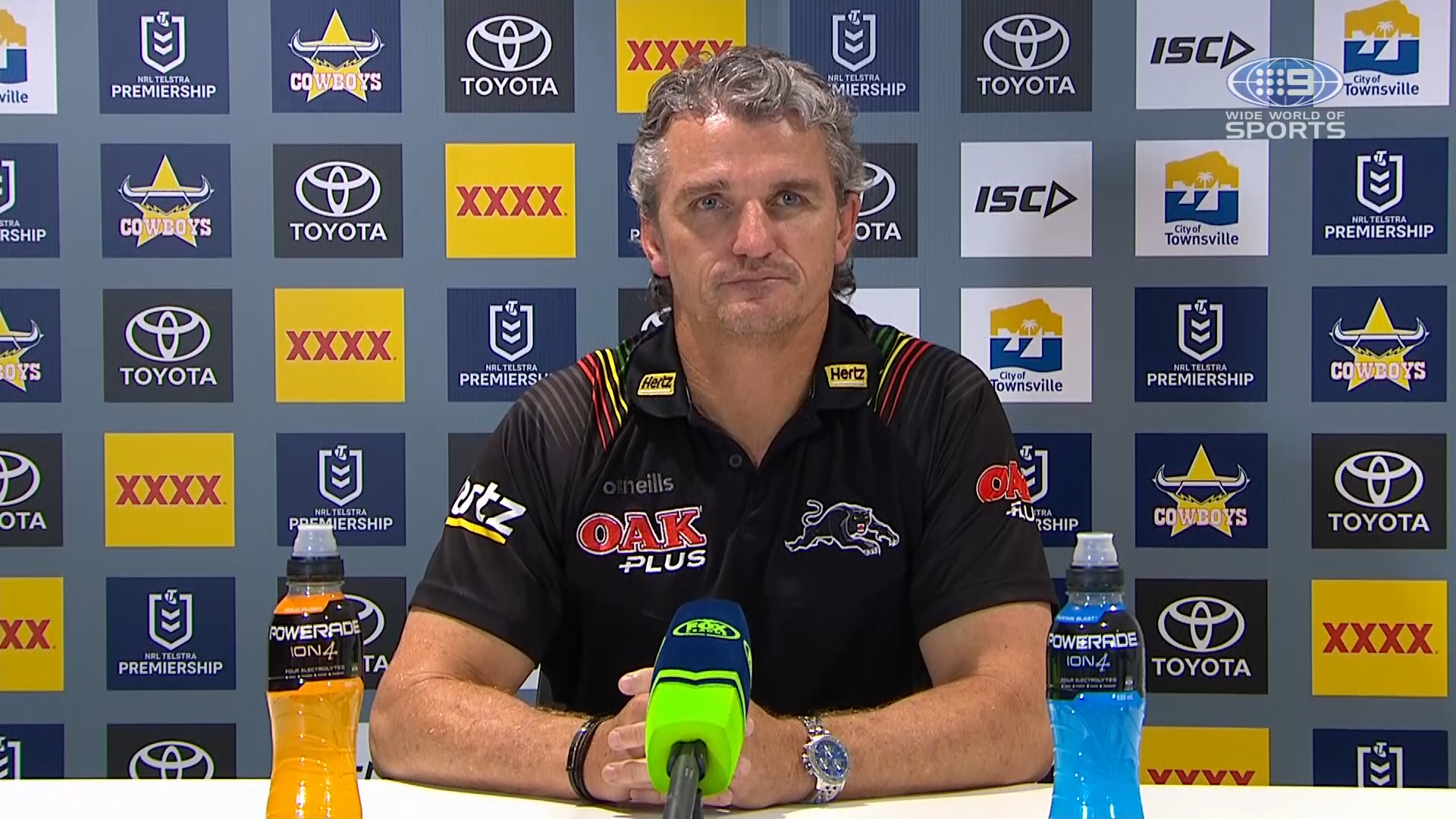 NRL Presser: Cowboys v Panthers - Round 19 - Ivan Cleary
