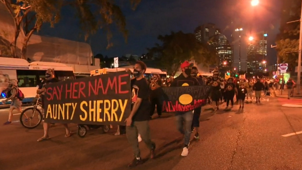 Black Lives Matter protests escalate in Brisbane