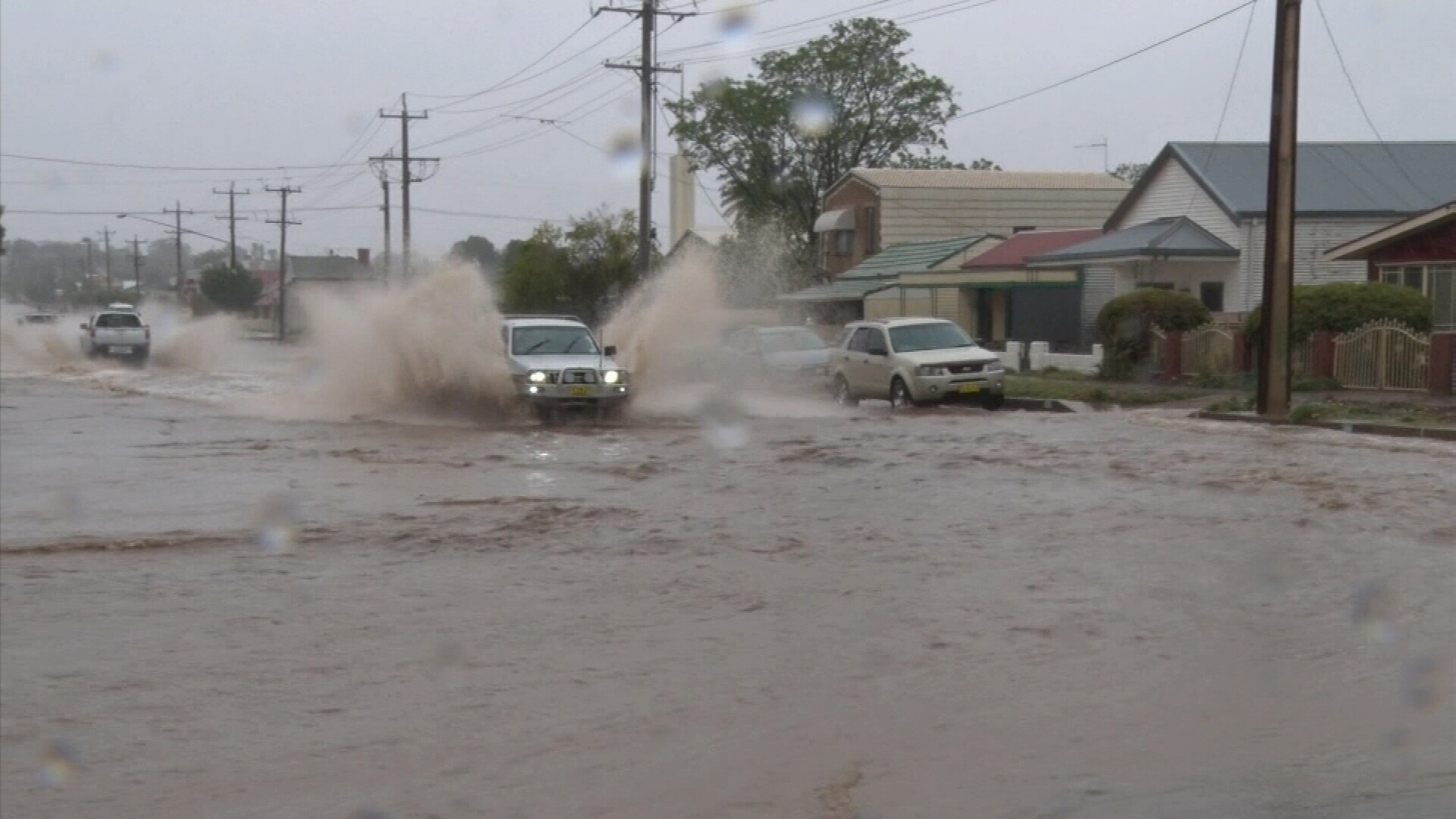 Broken Hill inundated with rain