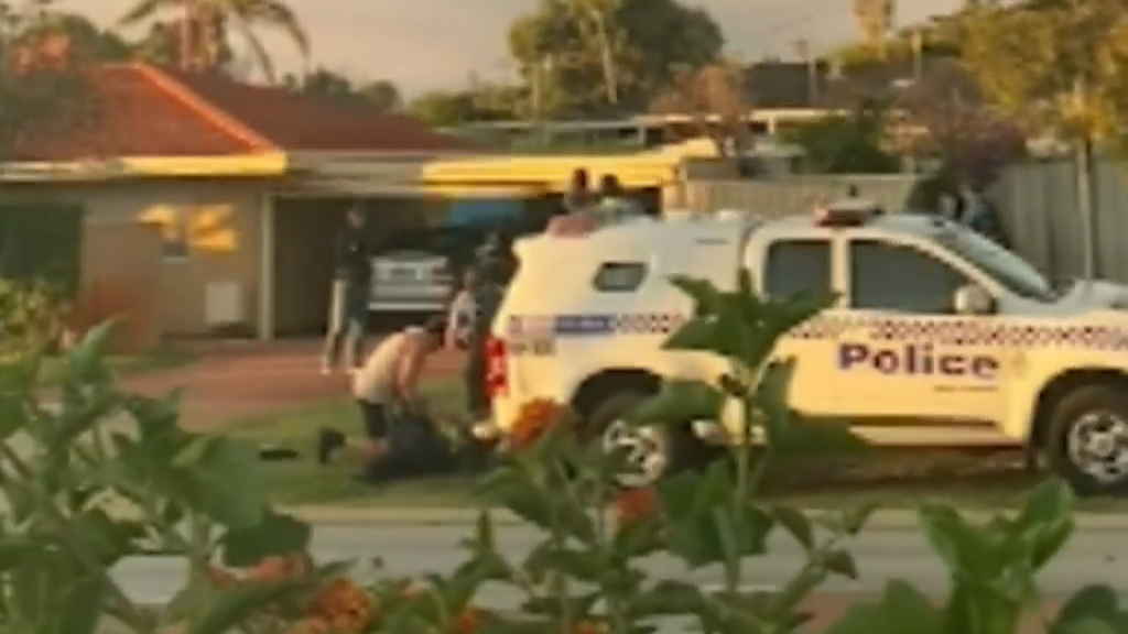 Two officers brutally attacked during arrest in Perth