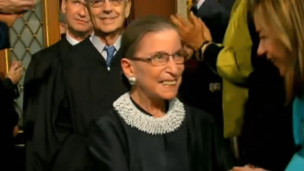 Death of Ruth Bader Ginsburg sparks political tension