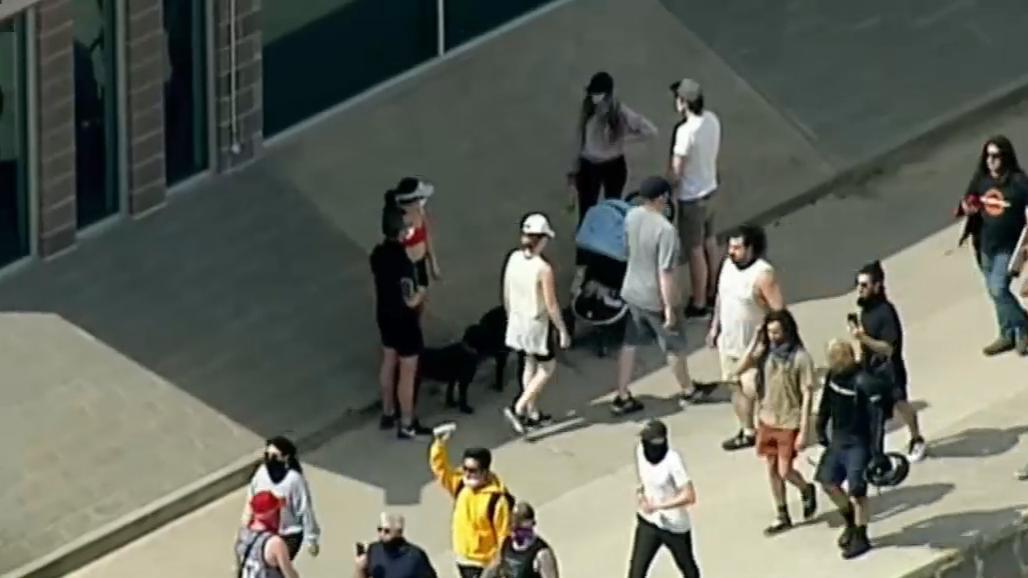 Coronavirus: Melbourne's anti-lockdown protests continue